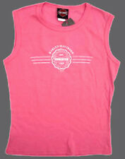 Harley Davidson LADIES GEAR UP PINK SHIRT