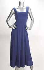 R&M Richards 2pc Purple Matte Jersey Glitter Long Dress & Jacket Gown  - NEW