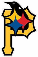 PITTSBURGH FAN STEELERS PENGUINS PIRATES Vinyl Sticker Decal
