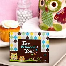 6 Adorable Owl Design Picture Photo Frames Baby Showers Christening Favors Gifts