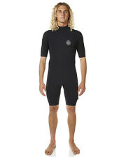 New Rip Curl 2X2mm E Bomb Zl Gb Ss Spring Wetsuit Mens Steamer Wetsuit Black