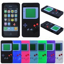 Retro Game Boy Gameboy Silicone Rubber Gel Case Cover For Apple iPhone 4S 4 4G