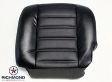 03-07 Hummer H2 SUT SUV OnStar Sunroof -Driver Bottom Leather Seat Cover Black