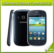 "Original Unlocked Samsung Galaxy Fame S6810 3.5"" 3G 4GB 5MP Android WIFI GPS"