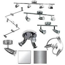 Polished Chrome / Brushed Chrome Ceiling Bar Spotlight Light Fitting 1 2 3 4 Way