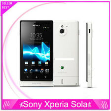 "Sony MT27i Xperia sola Dual core 3G Android 3.7"" 5MP 8GB Capacitive touch screen"