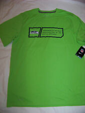 Nike DriFit Men's Seattle Seahawks Shirt NWT