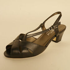 Van Dal Ladies Strappy Sandals 'Libby II' Navy E Fitting RRP £65