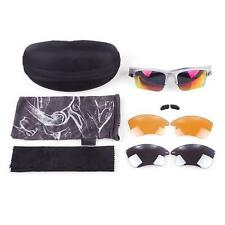 New Bicycle Bike Outdoor Sport UV400 Protection Goggle Sunglasses Glasses Lens