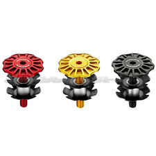 3 Colors 2015 NEW TOKEN TK291 Sand Blasted CNC Alloy Headset Cap Top Bolt 12g