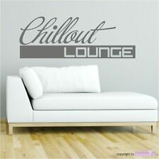 Wall Tattoo Chillout Lounge Relax Chilling Lounge Wall Sticker Wall Stickers