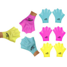 Unisex Adult / Children Silicone Swimming Webbed Gloves Diving Snorkeling Gloves