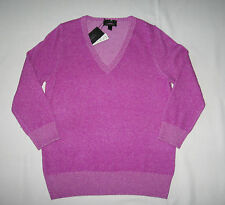 J.Crew New With Tag 100% Cashmere V-Nack Sweater Retail:$228+Tax