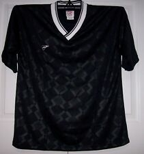 Black Youth Soccer Jerseys Stampa jersey FieldSheer - Upper V