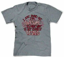 im awesome t-shirt i love me ego tshirt narcissistic self esteem mens guys boys