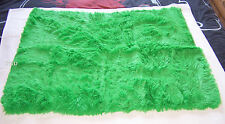Funky Brights Shaggy Faux Fur Floor Throw Rug 75cm x 95cm New Various Colours
