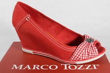 Marco Tozzi Court shoes, Slippers, Casual shoes Synthetic red/White NEW