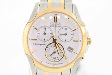 Ladies Citizen FB1114-51A Eco-Drive Two-Tone Stainless Steel Chronograph Watch