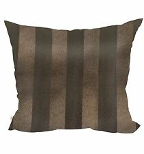 Yon Decorative Pillow Covers Collection Brown, Square Set of 2.