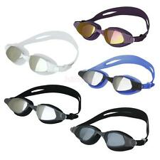 Adult Anti-fog UV Adjustable Swimming Pool Goggles Swim Glasses w/ Nose Buckles