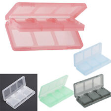 6-in-1 Video Game Memory Card Storage Store Box for Nintendo NDSL 3DS Game Play