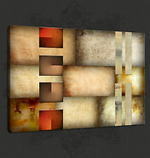 ABSTRACT DESIGN CONTEMPORARY CANVAS PRINT ART POSTER READY TO HANG