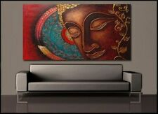 Modern Abstract Art Oil Painting Wall Decor Canvas Painting Buddha 60x120cm