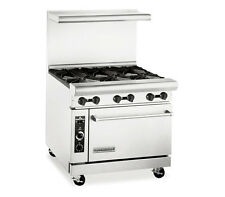 American Range AR-6C, Heavy Duty Gas 36 inch, 6 burners Restaurant Range