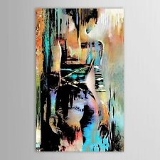 Modern Abstract Handpainted Nude Girl Oil Painting on Canvas Wall Decor 60x90cm
