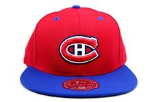 Montreal Canadiens Team Logo Red Blue White Mitchell & Ness Fitted Hat Cap
