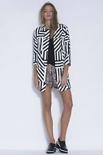 NEW THREE OF SOMETHING WRONG TURN GO BACK COAT!! SMALL  RRP $189