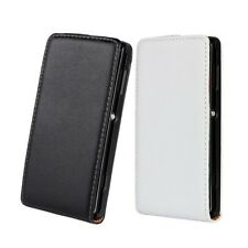 NEW 1x Genuine leather Flip Case Cover Skin Open up for SONY Xperia L S36h C2105