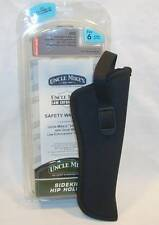Uncle Mikes Size 6 Gun Pistol Sidekick Hip Holster Choice Right or Left Hand