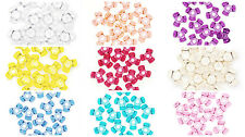 11 mm Acrylic Tri-Beads 1,000 Pieces Made in USA 28 Colors Available Bulk