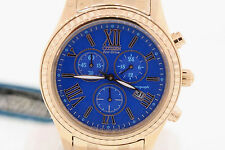 Ladies Citizen FB1363-56L Eco-Drive Rose Gold-Tone Stainless Blue Dial Watch