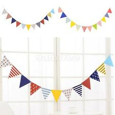 Birthday Party Perfectly Flag Bunting Decoration 12 Paper Flags