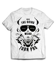 Hunter S Thompson T-Shirt, The Weird Turn Pro, Fear loathing gonzo hells angels