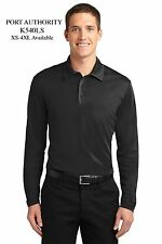 Port Authority® Silk Touch™ Performance Long Sleeve Polo - K540LS