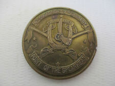 Vintage 4th Squadron 7th United States Cavalry Army Challenge Coin