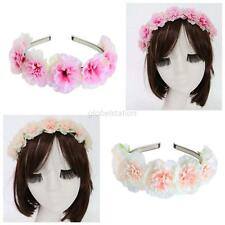 Boho Style Floral Flower Garland Women Girls Hairband Headband Party Wedding Hot