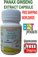 Best Offer Panax Ginseng Extract Capsules - High Potency Ginsenosides
