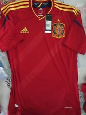 BNWT ADIDAS SPAIN 2012-13 HOME FOOTBALL SOCCER JERSEY MEN'S SIZES
