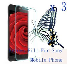 3 Glossy Matte LCD Screen Protector Film Cover Skin Shell For Sony Mobile phone