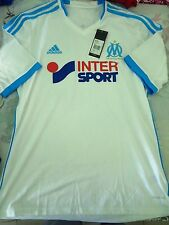 BNWT OLYMPIQUE MARSEILLE 2012-13 Home Football Soccer Jersey Mens Sizes - SALE!!