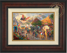 Thomas Kinkade Disney Dumbo 12 x 18 LE S/N Canvas Framed