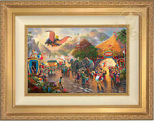 Thomas Kinkade Disney Dumbo 12 x 18 LE G/P Canvas Framed