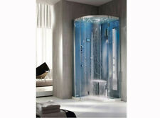 Hafro shower enclosure Tempo right curved multifunctional shower cabin Tempo int