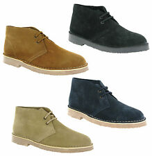 Cotswold Sahara Desert Suede Leather 2 Eye Mens Classic Boots Shoes UK6-15