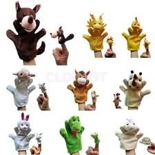 Set of 2pcs Hand & Finger Puppets Kids Childrens Story Telling Educational Toy