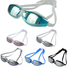 Adult Waterproof Anti-Fog UV Protection Swimming Diving Goggles Adjustable
